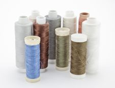 Free Spools Of Thread Royalty Free Stock Image - 14291516