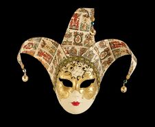 Free Traditional Carnival Venice (Italy) Mask Royalty Free Stock Photography - 14291617