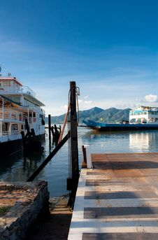 Free Ferry Koh Chang Thailand Stock Photography - 14291962