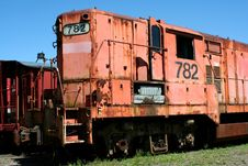 Free Old Train Locomotive Royalty Free Stock Images - 14291989