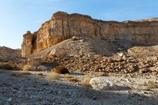 Free Rocky Desert Landscape At Sunset Royalty Free Stock Photo - 14292325