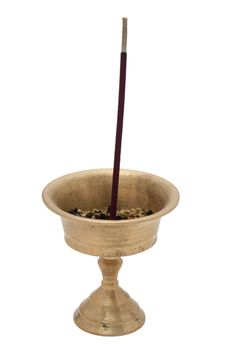 Free Buddhist Incense Royalty Free Stock Image - 14292476