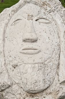 Free Stone Face Royalty Free Stock Photography - 14292717