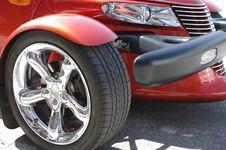 Free Retro Style Car Detail Royalty Free Stock Photo - 14293375