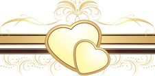 Free Hearts With Ornament. Decorative Element Stock Photo - 14293390