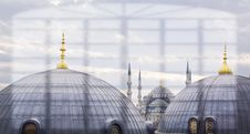 Free Blue Mosque In Istanbul Turkey Stock Image - 14293511