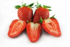 Free Strawberries Royalty Free Stock Images - 14293759