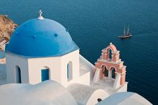 Free Greek Church Stock Photos - 14294263