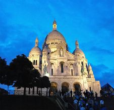 Free Basilique Sacre Coeur Royalty Free Stock Photos - 14294428