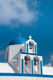 Free Greek Church Royalty Free Stock Image - 14294436