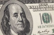 Free Hundred Dollar Banknote Stock Photo - 14295190