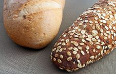 Free Two Types Of Breads Stock Photo - 14295240