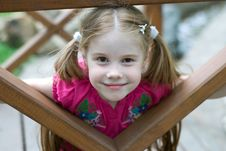 Free Smiling Little Girl Stock Images - 14295564