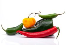 Free Hot Peppers Stock Photography - 14296482