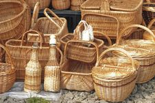 Free Basketry On Nature Stock Photography - 14296972
