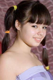 Free Lovely Teen Girl Stock Image - 14297471