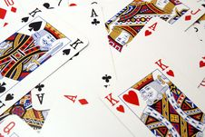 Free Poker Card Background Stock Images - 14297844
