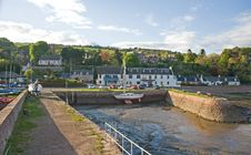 Free The Harbor At Fortrose. Royalty Free Stock Image - 14298276