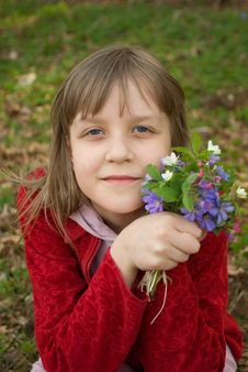 Free Spring Portrait Royalty Free Stock Photography - 14298487