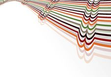 Colorful Creative Abstract Design Stock Image