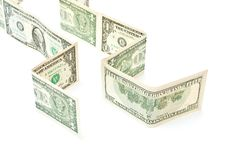 Rows From Money Stock Photo