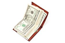 Free Money In Wallet Royalty Free Stock Image - 14299686