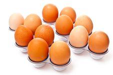 Free Raw Eggs Stock Image - 14299701