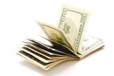 Free Stack Of Dollars Royalty Free Stock Photos - 14299708