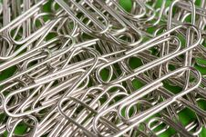 Free Paper Clips Royalty Free Stock Image - 1430226