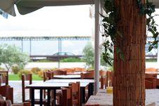 Free Terrace Restaurant Royalty Free Stock Photo - 1430425