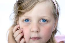 Free Young Girl Close Up Royalty Free Stock Photography - 1430477