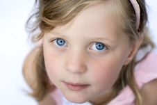 Free Young Girl Close Up Royalty Free Stock Photography - 1430507