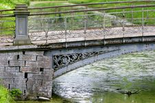 Free Bridge In Park Stock Photo - 1430510