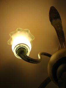 Lamp And Light Royalty Free Stock Photo