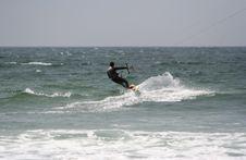 Free Kitesurfer Royalty Free Stock Photography - 1431557