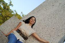 Free Beauty Alone 2 Stock Image - 1433121