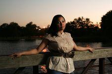 Free Beauty On The Bridge 3 Stock Photos - 1433163