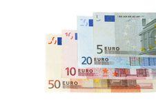Free Euro Banknotes Royalty Free Stock Photography - 1433237