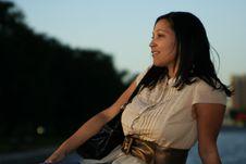 Enjoying Sunset 4 Royalty Free Stock Photography
