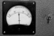 Free Amperage Display Stock Image - 1433411