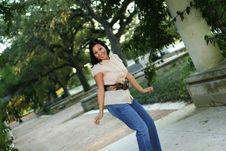 Happy And Joy Body Language 5 Royalty Free Stock Photos