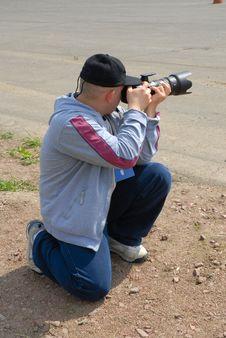 Free Pro Photographer Royalty Free Stock Image - 1435076