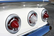 Free Impala Tail Lights Stock Photo - 1436620