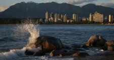 Wave Crash Royalty Free Stock Photos