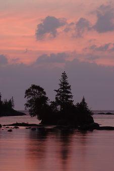 Free Chippewa Harbor Sunrise Stock Photo - 1437280