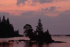 Free Chippewa Harbor Sunrise Stock Images - 1437284