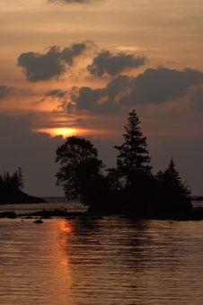 Free Chippewa Harbor Sunrise Royalty Free Stock Photo - 1437295