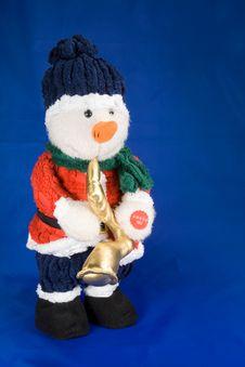 Free Snowman Stock Image - 1437651