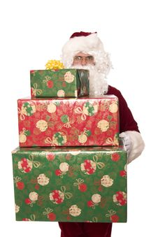Free Santas Gifts Stock Photos - 1437893