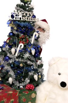 Free Santas Gifts 9 Stock Image - 1437901